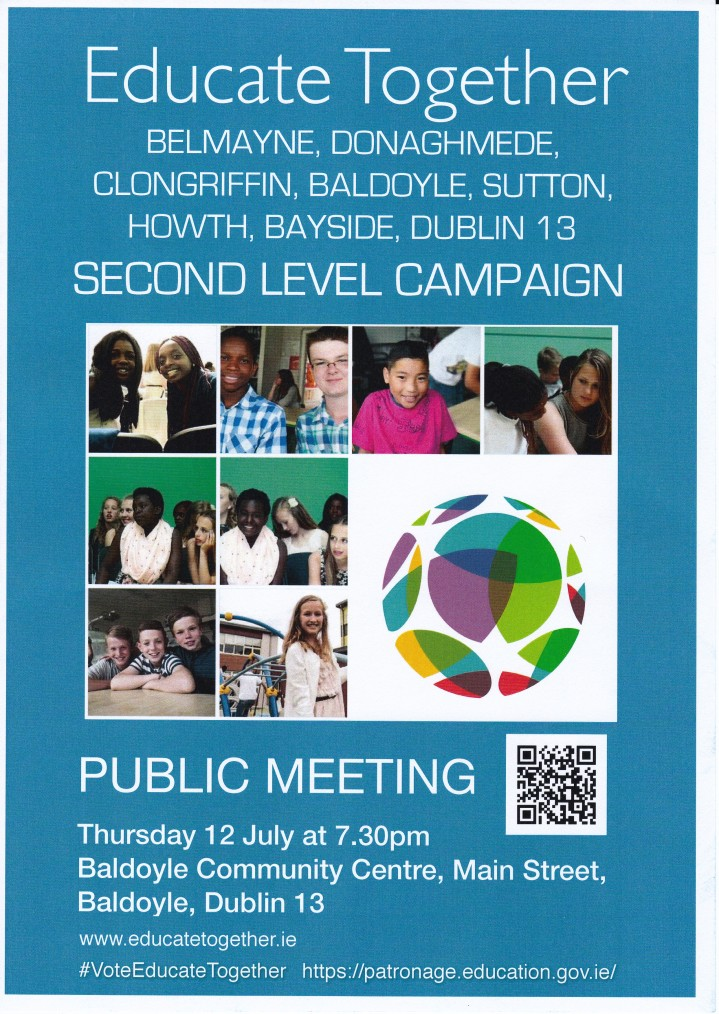 Public Meeting for the Dublin 13 patronage secondary school campaign